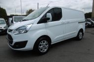 FORD TRANSIT CUSTOM 290/125 LIMITED L1H1 LWB IN WHITE WITH SAT NAV,AIR CONDTIONING,HEATED SEATS,ELECTRIC PACK,ALLOY WHEELS AND MORE - 1174 - 2