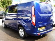 FORD TRANSIT CUSTOM 290/125 LIMITED L1H1 SWB 6 SEATER DOUBLE CAB COMBI VAN WITH AIR CONDITIONING,PARKING SENSORS,ALLOYS AND MORE - 1388 - 6