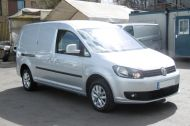 VOLKSWAGEN CADDY MAXI C20 TDI HIGHLINE IN SILVER WITH ONLY 41.000 MILES,AIR CONDITIONING,SAT NAV,ELECTRIC PACK AND MORE - 1099 - 2