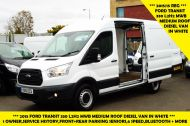 FORD TRANSIT 330 L2H2 MWB MEDIUM ROOF WITH FRONT AND REAR PARKING SENSOR,BLUETOOTH,6 SPEED AND MORE - 1499 - 1
