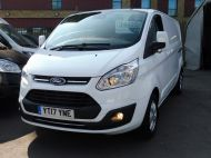 FORD TRANSIT CUSTOM 290/130 LIMITED L2H1 LWB 2.0 130PS EURO 6,IN WHITE WITH AIR CONDITIONING,PARKING SENSORS AND MORE  - 1374 - 24