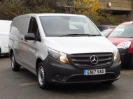 MERCEDES VITO 111 CDI LWB IN SILVER WITH ONLY 58.000 MILES,AIR CONDITIONING,CRUISE CONTROL,BLUETOOTH,6 SPEED AND MORE - 1632 - 27