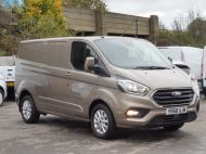 FORD TRANSIT CUSTOM 280/130 LIMITED L1 SWB EURO 6 WITH ONLY 22.000 MILES,AIR CONDITIONING,HEATED SEATS,SENSORS,ELECTRIC PACK AND MORE **** £18995 + VAT **** - 1543 - 3