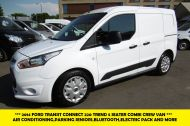 FORD TRANSIT CONNECT 220 TREND 5 SEATER COMBI CREW VAN 1.6 TDCI 95 WITH TWIN SIDE DOORS,AIR CONDITIONING AND MORE *** CHOICE OF 2 *** - 1169 - 1