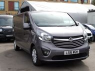 VAUXHALL VIVARO 2900 L2H1 CDTI SPORTIVE IN GREY WITH ONLY 54.000 MILES,AIR CONDITIONING,SAT NAV,ALLOY WHEELS AND MORE *** SOLD *** - 1359 - 22