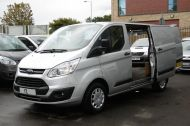 FORD TRANSIT CUSTOM 290 TREND L1 SWB IN SILVER 2.0 EURO 6 ULEZ WITH PARKING SENSORS,CRUISE,ELECTRIC PACK AND MORE *** CHOICE OF 2 FROM £11995+VAT *** - 1387 - 4