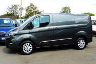 FORD TRANSIT CUSTOM 280/130 LIMITED L1H1 SWB 2.0 TDCI EURO 6 IN MAGNETIC GREY NEW SHAPE MODEL WITH ONLY 18.000 MILES AND MORE - 1437 - 25