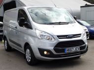 FORD TRANSIT CUSTOM 290 TREND L1H1 SWB IN SILVER 2.0 EURO 6 WITH ONLY 34.000 MILES,FRONT+REAR PARKING SENSORS,ELECTRIC PACK AND MORE  - 1383 - 22