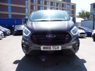 FORD TRANSIT CUSTOM 300 TREND 2.0 TDCI 130 EURO 6 L1 H1 IN MAGNETIC GREY , ONLY 22000 MILES **** £14995 + VAT **** - 1390 - 2