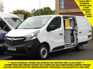 VAUXHALL VIVARO 2900 L1 SWB WITH ONLY 53.000 MILES,AIR CONDITIONING,SENSORS,ELECTRIC PACK,RACKING AND MORE  - 1586 - 2
