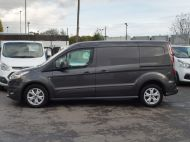 FORD TRANSIT CONNECT 240 LIMITED L2 LWB EURO 6 IN GREY WITH AIR CONDITIONING,SENSORS,ALLOY'S,PARKING SENSORS,ELECTRIC PACK,BLUETOOTH AND MORE  - 1597 - 17