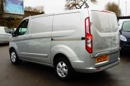 FORD TRANSIT CUSTOM 290/130 LIMITED L1H1 LWB IN SILVER WITH ONLY 21.000 MILES,2.0 130PS EURO 6,AIR CONDITIONING AND MORE - 1261 - 7