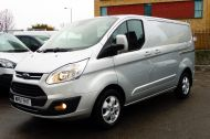 FORD TRANSIT CUSTOM 290/130 LIMITED L1H1 LWB IN SILVER WITH ONLY 21.000 MILES,2.0 130PS EURO 6,AIR CONDITIONING AND MORE - 1261 - 22