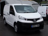 NISSAN NV200 1.5DCi ACENTA SWB EX BRITISH GAS WITH AIR CONDITIONING,ELECTRIC PACK,REVERSE CAMERA **** SOLD **** - 1405 - 20