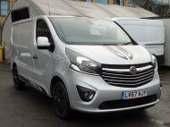 VAUXHALL VIVARO 2700 LIMITED EDITION BI TURBO SPORTIVE L1 SWB IN SILVER WITH ONLY 47.000 MILES,SAT NAV,ALLOY WHEELS AND MORE *** SOLD *** - 1656 - 30