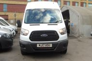 FORD TRANSIT 350 L3 H3 RWD 2.0 TDCI 130 IN WHITE WITH AIR CONDITIONING ** EURO 6 , ULEZ COMPLIANT  , ONLY  46000 MILES **** £15495 + VAT **** - 1742 - 3