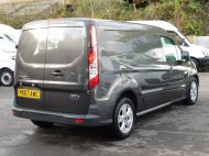 FORD TRANSIT CONNECT 240 LIMITED L2 LWB EURO 6 IN GREY WITH AIR CONDITIONING,SENSORS,ALLOY'S,PARKING SENSORS,ELECTRIC PACK,BLUETOOTH AND MORE  - 1597 - 5