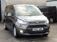 FORD TRANSIT CONNECT 240 LIMITED L2 LWB EURO 6 IN GREY WITH AIR CONDITIONING,SENSORS,ALLOY'S,PARKING SENSORS,ELECTRIC PACK,BLUETOOTH AND MORE  - 1597 - 19
