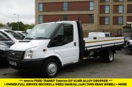 FORD TRANSIT 350/125 E/F 13FT 6 ALLOY DROPSIDE,1 OWNER,6 SPEED MANUAL,TWIN REAR WHEELS AND MORE - 1213 - 3