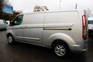 FORD TRANSIT CUSTOM 290 LIMITED L2 H1 125 LWB IN METALLIC SILVER WITH AIR CONDTIONING **** JUST ARRIVED ***** £9995 + VAT  - 1258 - 5