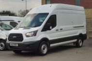 FORD TRANSIT 350 L3 H3 RWD 2.0 TDCI 130 IN WHITE WITH AIR CONDITIONING ** EURO 6 , ULEZ COMPLIANT  , ONLY  46000 MILES **** £15495 + VAT **** - 1742 - 1
