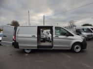 MERCEDES VITO 111 CDI LWB IN SILVER WITH ONLY 58.000 MILES,AIR CONDITIONING,CRUISE CONTROL,BLUETOOTH,6 SPEED AND MORE - 1632 - 8