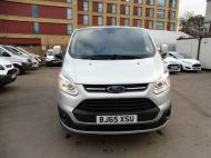 FORD TRANSIT CUSTOM 290/125 LIMITED L2H1 LWB IN SILVER WITH ONLY 54.000 MILES,AIR CONDTIONING,HEATED SEATS,ELECTRIC PACK,ALLOY WHEELS AND MORE - 1283 - 3