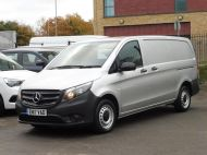 MERCEDES VITO 111 CDI LWB IN SILVER WITH ONLY 58.000 MILES,AIR CONDITIONING,CRUISE CONTROL,BLUETOOTH,6 SPEED AND MORE - 1632 - 2