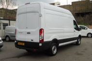 FORD TRANSIT 350 L3 H3 RWD 2.0 TDCI 130 IN WHITE WITH AIR CONDITIONING ** EURO 6 , ULEZ COMPLIANT  , ONLY  46000 MILES **** £15495 + VAT **** - 1742 - 5