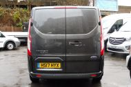 FORD TRANSIT CUSTOM 290/130 LIMITED L2H1 LWB IN MAGNETIC GREY WITH ONLY 23.000 MILES,2.0 130PS EURO 6,AIR CONDITIONING AND MORE - 1239 - 4