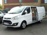 FORD TRANSIT CUSTOM 290/130 LIMITED L2H1 LWB 2.0 130PS EURO 6,IN WHITE WITH AIR CONDITIONING,PARKING SENSORS AND MORE  - 1374 - 2