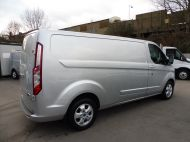 FORD TRANSIT CUSTOM 290/125 LIMITED L2H1 LWB IN SILVER WITH ONLY 54.000 MILES,AIR CONDTIONING,HEATED SEATS,ELECTRIC PACK,ALLOY WHEELS AND MORE - 1283 - 5