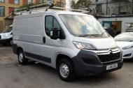 CITROEN RELAY 33 L1 H1 ENTERPRISE 2.2 HDI 130 SWB IN METALLIC SILVER WITH ONLY 10000 MILES , JUST ARRIVED , AWAITING MORE PICTURES **** £11495 + VAT **** - 1263 - 3