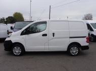 NISSAN NV200 1.5DCi ACENTA DIESEL VAN WITH ONLY 58.000 MILES,REVERSE CAMERA,TWIN SIDE DOORS AND MORE  - 1585 - 17
