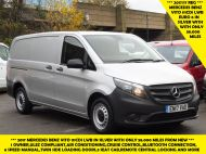 MERCEDES VITO 111 CDI LWB IN SILVER WITH ONLY 58.000 MILES,AIR CONDITIONING,CRUISE CONTROL,BLUETOOTH,6 SPEED AND MORE - 1632 - 1