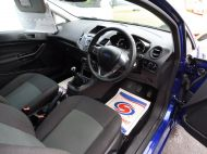 FORD FIESTA VAN 1.5 TDCI WITH AIR CONDITIONING IN DEEP IMPACT BLUE WITH ONLY 54.000 MILES - 1234 - 10