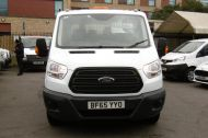 FORD TRANSIT 350 L3 DOUBLE CREW CAB ALLOY TIPPER WITH ONLY 34.000 MILES,6 SPEED MANUAL,TOW BAR AND MORE  - 1228 - 2