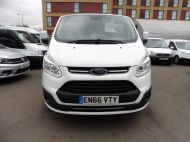 FORD TRANSIT CUSTOM 290/130 LIMITED L1H1 EURO 6  2.0 TDCI 130 6 - SEAT  COMBI VAN IN FROZEN WHITE WITH ONLY 19000 MILES , **** £15995 + VAT ****  - 1342 - 2