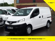 NISSAN NV200 1.5DCi ACENTA SWB EX BRITISH GAS WITH AIR CONDITIONING,ELECTRIC PACK,REVERSE CAMERA **** SOLD **** - 1405 - 1