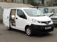 NISSAN NV200 1.5DCi ACENTA DIESEL VAN WITH ONLY 58.000 MILES,REVERSE CAMERA,TWIN SIDE DOORS AND MORE  - 1585 - 2