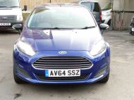 FORD FIESTA VAN 1.5 TDCI WITH AIR CONDITIONING IN DEEP IMPACT BLUE WITH ONLY 54.000 MILES - 1234 - 2