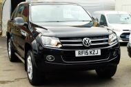 VOLKSWAGEN AMAROK  2.0 TDI 180 HIGHLINE AUTOMATIC 4 MOTION TECH DOUBLE CAB WITH FULL GREY LEATHER , JUST ARRIVED **** £14995 + VAT **** - 1463 - 22