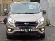 FORD TRANSIT CUSTOM 280/130 LIMITED L1 SWB EURO 6 WITH ONLY 22.000 MILES,AIR CONDITIONING,HEATED SEATS,SENSORS,ELECTRIC PACK AND MORE **** £18995 + VAT **** - 1543 - 24