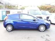 FORD FIESTA VAN 1.5 TDCI WITH AIR CONDITIONING IN DEEP IMPACT BLUE WITH ONLY 54.000 MILES - 1234 - 7