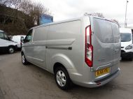 FORD TRANSIT CUSTOM 290/125 LIMITED L2H1 LWB IN SILVER WITH ONLY 54.000 MILES,AIR CONDTIONING,HEATED SEATS,ELECTRIC PACK,ALLOY WHEELS AND MORE - 1283 - 7