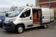 CITROEN RELAY 33 L1 H1 ENTERPRISE 2.2 HDI 130 SWB IN METALLIC SILVER WITH ONLY 10000 MILES , JUST ARRIVED , AWAITING MORE PICTURES **** £11495 + VAT **** - 1263 - 9