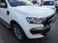 FORD RANGER WILDTRAK 4X4 3.2 TDCI 200 AUTOMATIC DOUBLE CAB  ** EURO 6 **IN WHITE WITH ONLY 26000 MILES **** £22995 + VAT **** - 1575 - 6