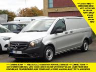 MERCEDES VITO 111 CDI LWB SILVER WITH ONLY 37.000 MILES,AIR CONDITIONING,CRUISE CONTROL,BLUETOOTH,6 SPEED AND MORE - 1696 - 1