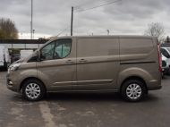 FORD TRANSIT CUSTOM 280/130 LIMITED L1 SWB EURO 6 WITH ONLY 22.000 MILES,AIR CONDITIONING,HEATED SEATS,SENSORS,ELECTRIC PACK AND MORE **** £18995 + VAT **** - 1543 - 22