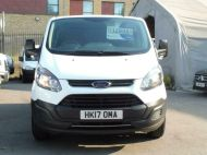 FORD TRANSIT CUSTOM 290 L1 SWB 6 SEATER DOUBLE CAB COMBI CREW VAN IN WHITE WITH BLUETOOTH,6 SPEED,EURO 6 AND MORE *** SOLD *** - 1550 - 3